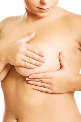 Sehr empfindliche brustwarzen